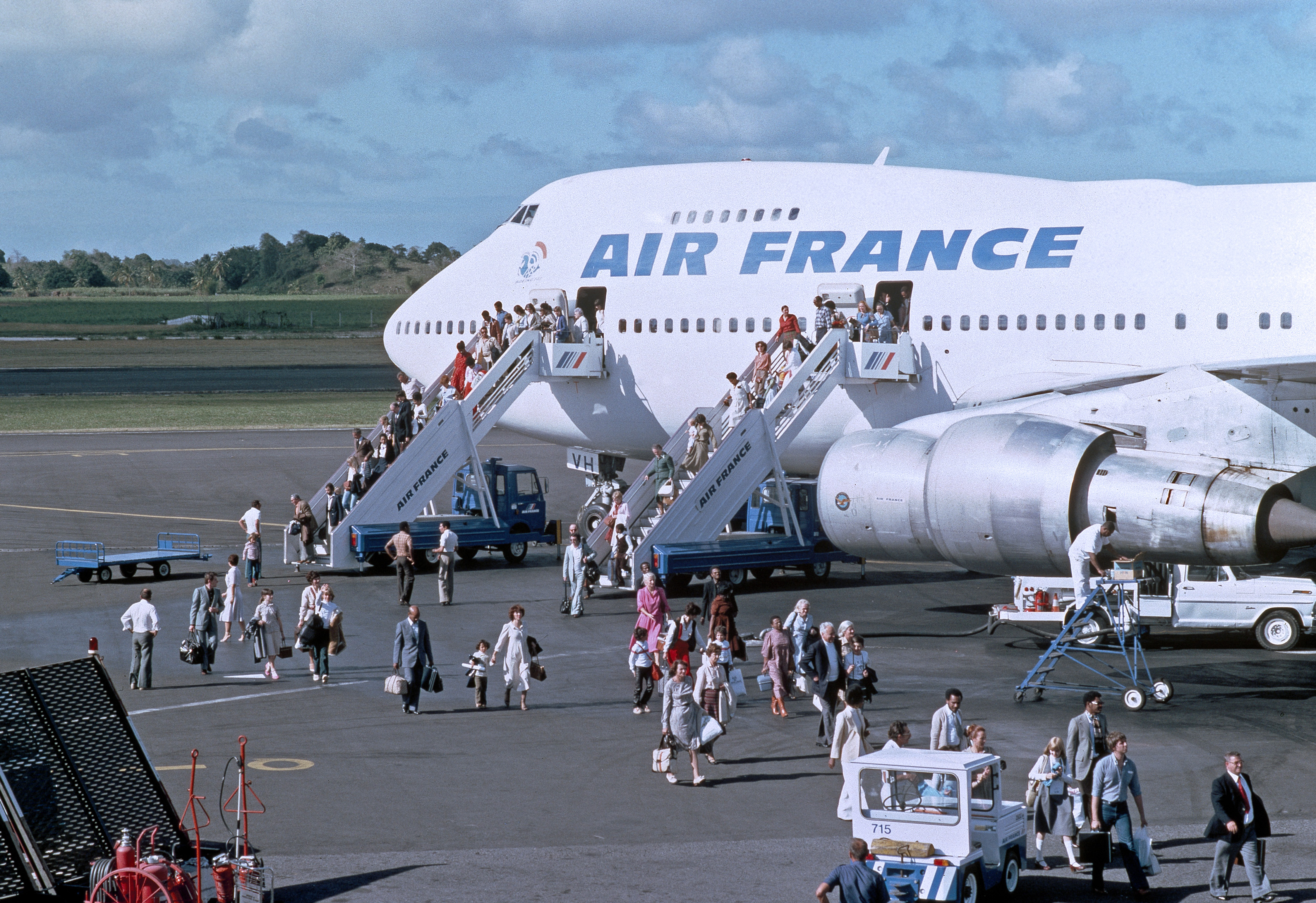 dr boeing 747 collection air france