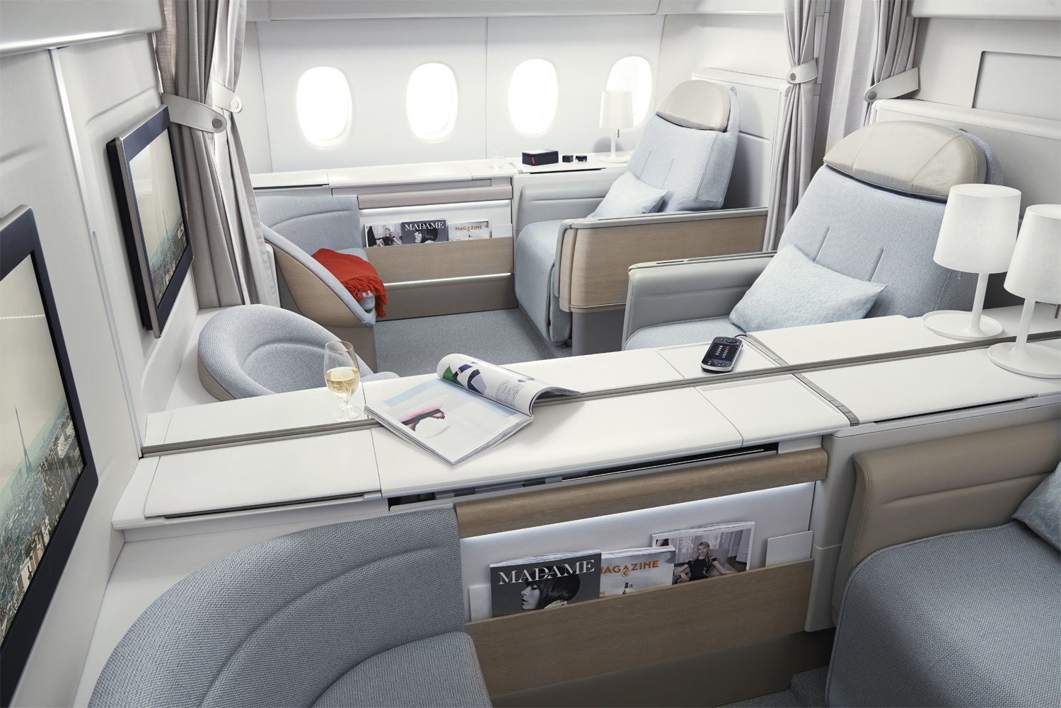 Confort for A380 air france interieur