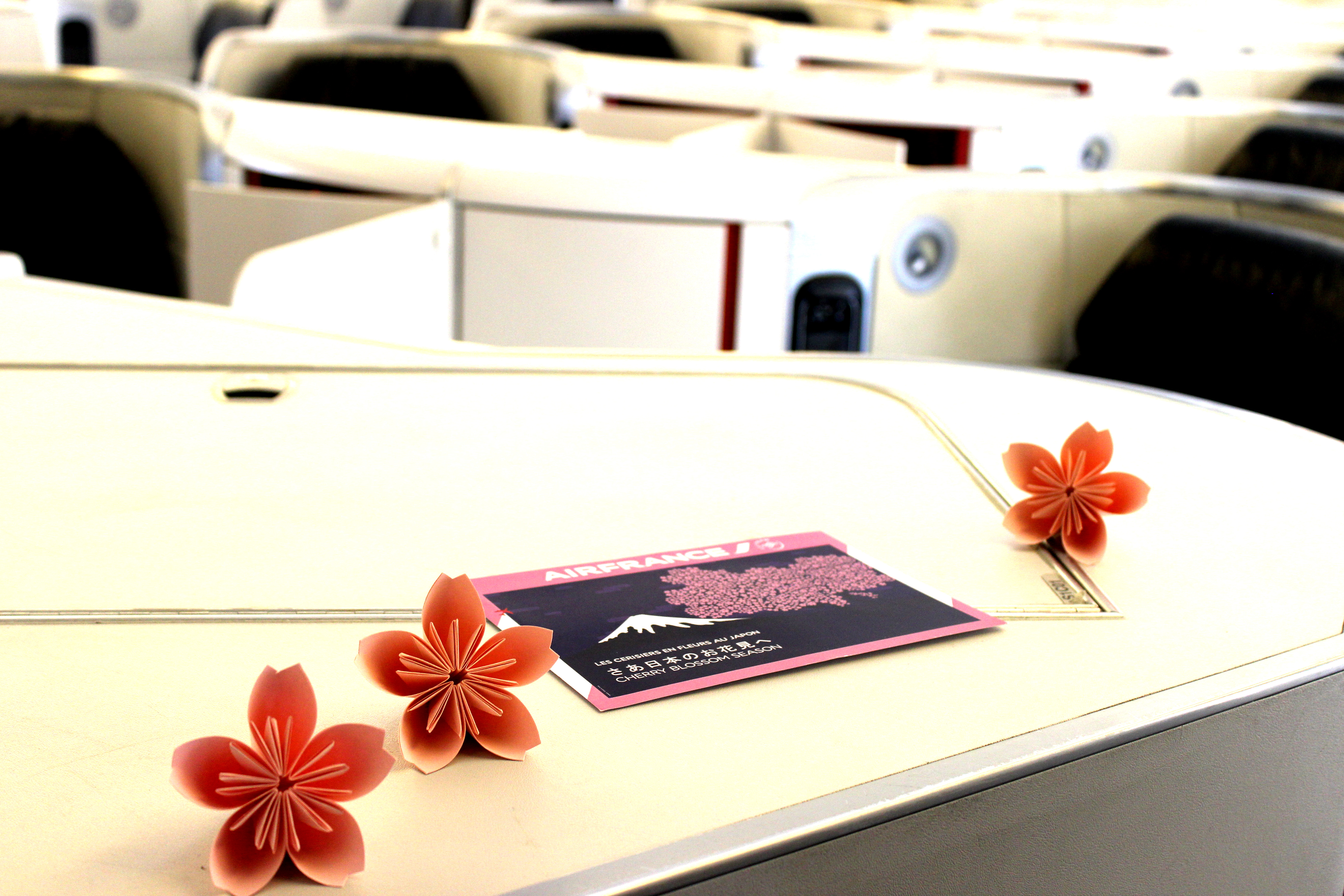 Air France provides special attentions for its Japanese