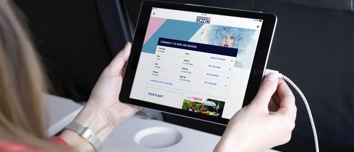 Air France launches its new in-flight Wi-Fi offer | Air