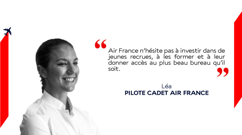 devenir pilote de ligne air france